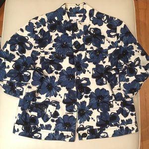 Charter Club floral Printed Jacket